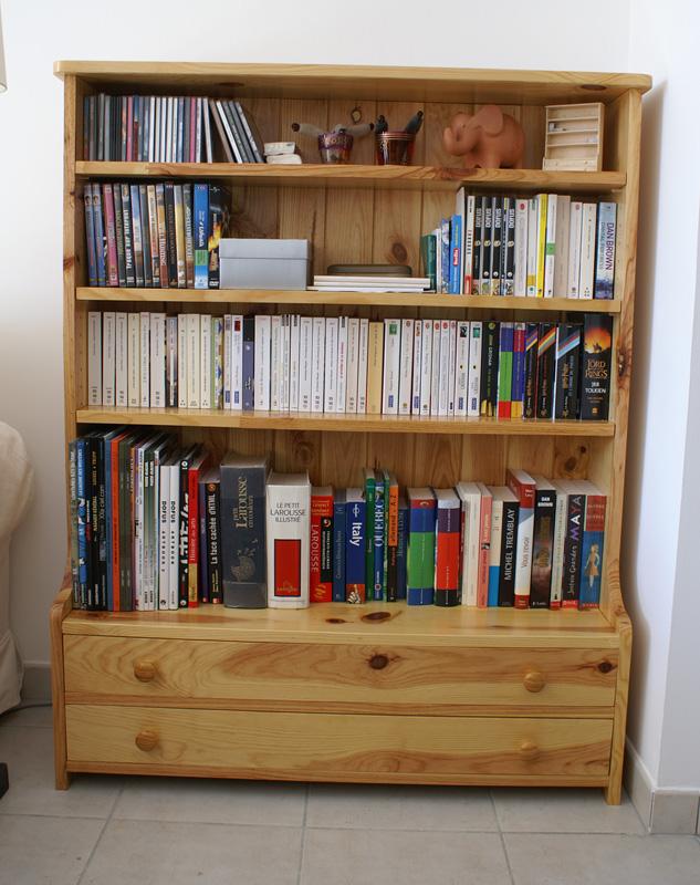 Bibliothèque-commode