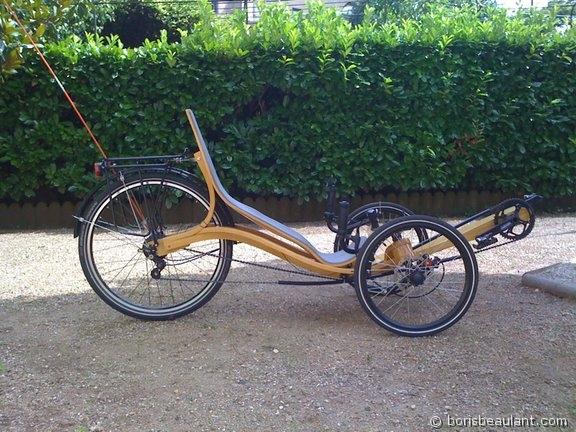 laminated wood trike bentrider online forums. Black Bedroom Furniture Sets. Home Design Ideas