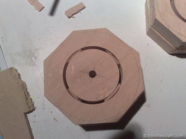 Zelo : Création des porte pivots (axe de centrage)