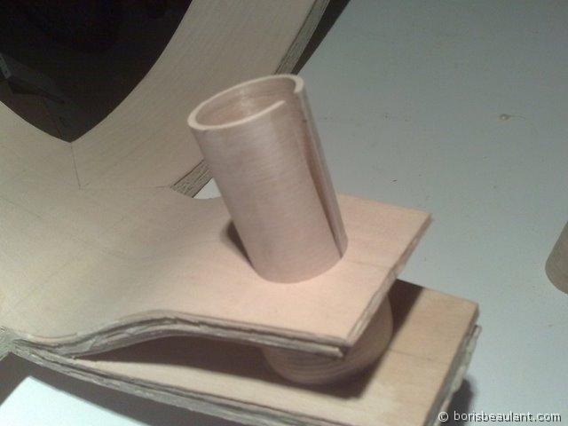 Zelo : Mise en place du cylindre