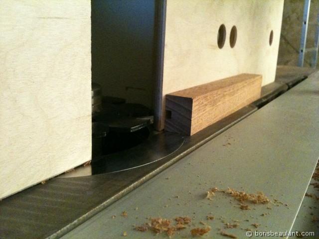 Dessous de plat : Usinage