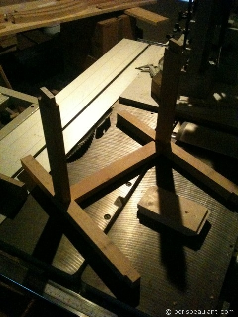 Rocking chair enfant : Assemblage
